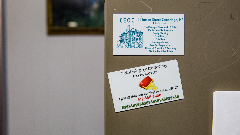 CEOC free tax preparation Cambridge